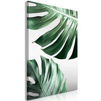 Tavla - Monstera Leaves (1 Part) Vertical - 60x90 Cm