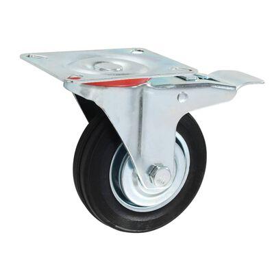 vidaXL Hjul 16 st 100 mm