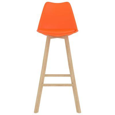 vidaXL Bargrupp 3 delar orange