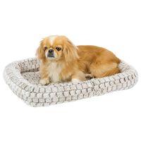 Ferplast Hund- och kattmadrass Tender 60 61x46x5 cm ljusgrå