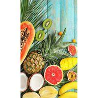 Good Morning Badlakan FRESH FRUITS 100x180cm flerfärgat