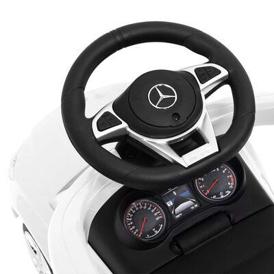 vidaXL Åkbil Mercedes Benz C63 vit