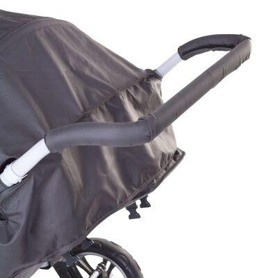 CHILDOME Handtagsskydd till barnvagn skum svart