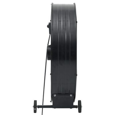 vidaXL Industrifläkt 77 cm 180 W svart