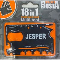 Joker Multitool Multiverktyg Jesper kreditkort betalkort