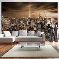 Fototapet - Nowy Jork: Night - 350x245 Cm