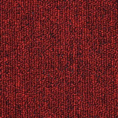 vidaXL 15 st Trappstegsmattor vinröd 56x17x3 cm