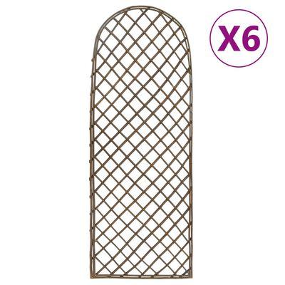 vidaXL Spaljéer 6 st 30x120 cm pil