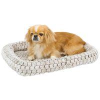 Ferplast Hund- och kattmadrass Tender 90 91x58x5 cm ljusgrå