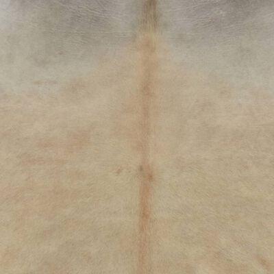 vidaXL Matta äkta kohud 150x170 cm beige