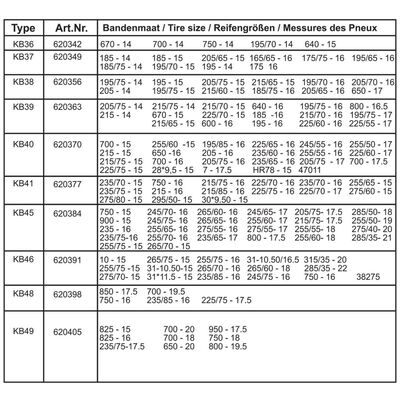 ProPlus Snökedjor till bil 16 mm 2-pack KB39