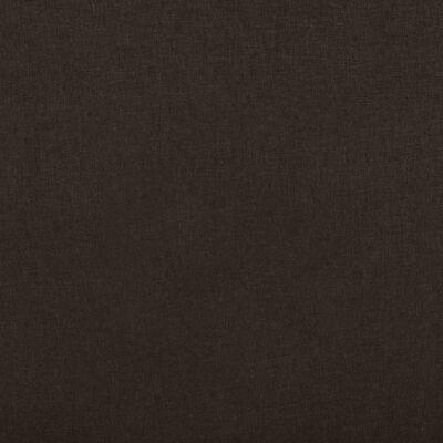 vidaXL Reclinerfåtölj mörkbrun tyg