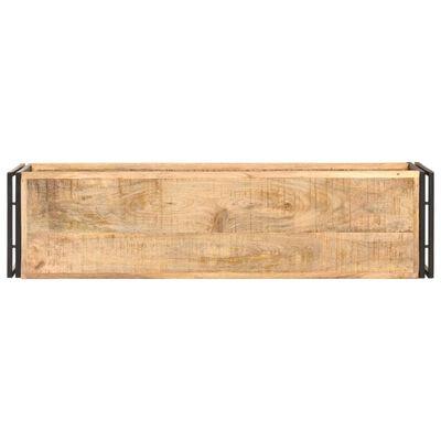 vidaXL TV-bänk 120x30x40 cm grovt mangoträ