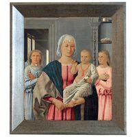 Med ram Senigallia Madonna,Piero della Francesca,61x51cm