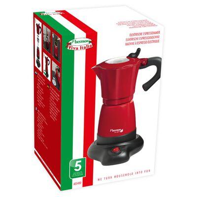 Bestron Espressobryggare 6 koppar 480 W röd AES480