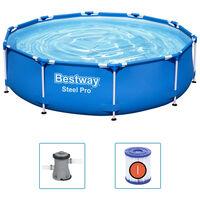 Bestway Pool med stålram Steel Pro 305x76 cm