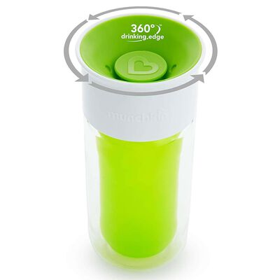Munchkin Isolerad kopp personlig Miracle 360° grön