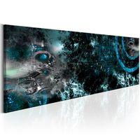 Tavla - Deep Sea - 120x40 Cm