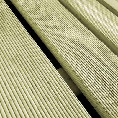 vidaXL Altantrall 24 st 50x50 cm trä grön