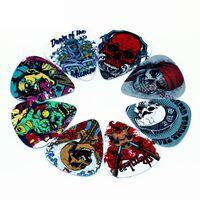Skull Plektrum i 10-pack - Gitarrtillbehör