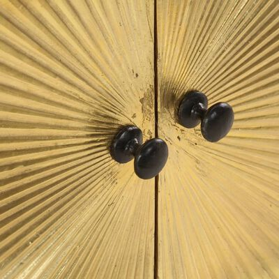 vidaXL Soffbord 90x50x45 cm massivt mangoträ
