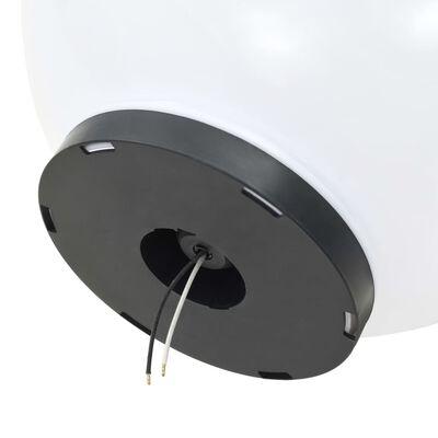 vidaXL Globlampor 4 st LED sfäriska 40 cm PMMA