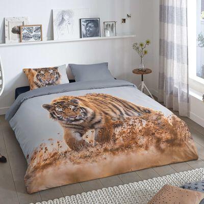 Good Morning Bäddset TIGER 135x200 cm flerfärgat