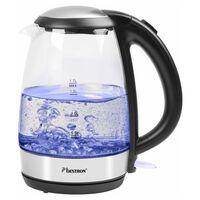 Bestron Digital vattenkokare AWK780G blå 2200 W 1,7 L glas