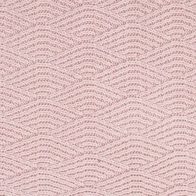 Jollein Filt River Knit 100x150 cm fleece blekrosa