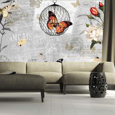 Fototapet - Butterflies Song - 300x210 Cm