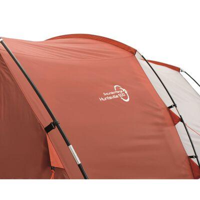 Easy Camp Tält Huntsville 500 5-pers röd och gräddvit