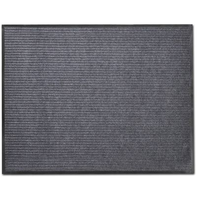 Dörrmatta PVC Grå  90 x 120 cm