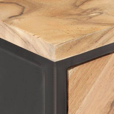 vidaXL Skänk 60x35x70 cm massivt akaciaträ