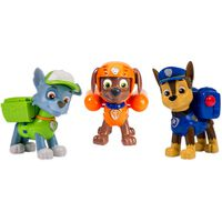 Paw Patrol Leksaksfigurer Action Pack Pups Rocky/Zuma/Chase