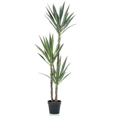 Emerald Konstväxt Yucca i kruka 150 cm