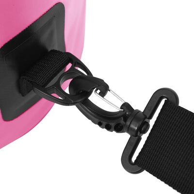 vidaXL Vattentät packpåse rosa 20 L PVC