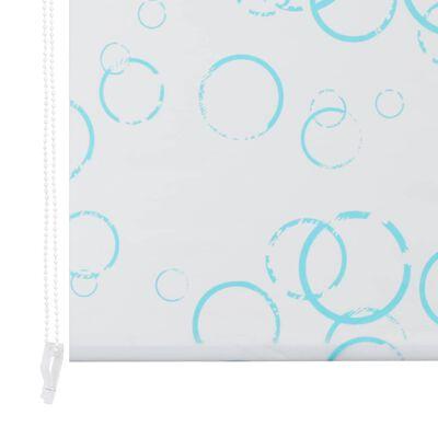 vidaXL Rullgardin för dusch 80x240 cm bubbla