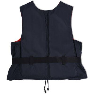 vidaXL Räddningsvästar 4 st 50 N 90+ marinblå