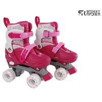 Street Rider Rullskridskor justerbara stl 31-34 rosa