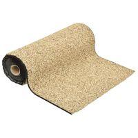 vidaXL Kantmatta naturlig sand 250x60 cm