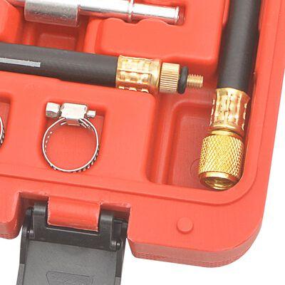 vidaXL Verktygssats med bränsletrycksmätare