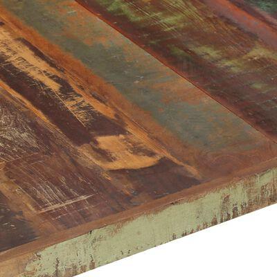 vidaXL Soffbord 140x140x40 cm massivt återvunnet trä