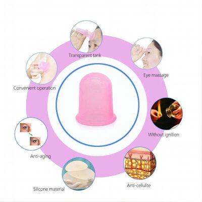 Koppning för behandling & massage av ansikte 4-pack Olika storlekar Ro