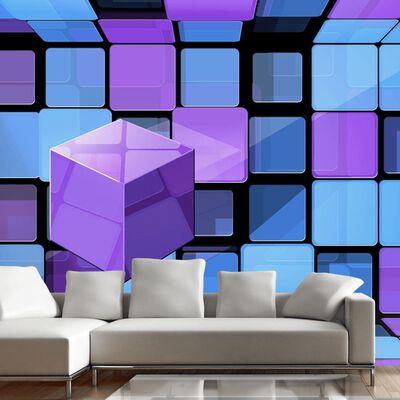 Fototapet - Rubik's Cube: Variation - 350x245 Cm