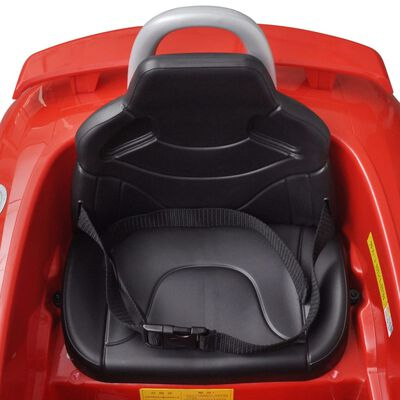 Elbil för barn Audi TT RS med fjärrstyrning röd