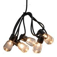 KONSTSMIDE Partylampor med 40 ovala lampor extra varm