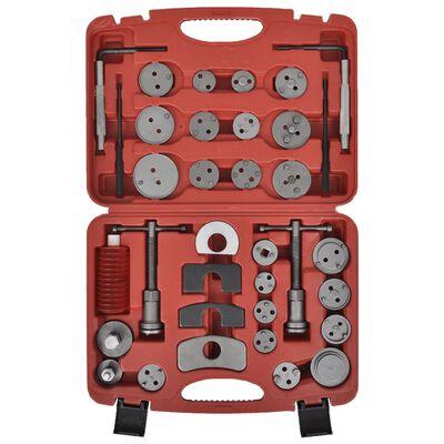 vidaXL Bromskolvsverktyg 35 delar