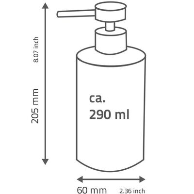 RIDDER Tvålpump Roller 290 ml beige 2105509