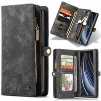 CASEME Samsung Galaxy Note 20 Retro läder plånboksfodral