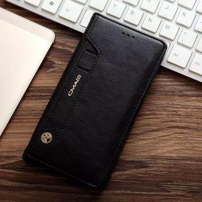 CMAI2 Litchi plånboksfodral till Samsung Galaxy S7 Edge - Svart